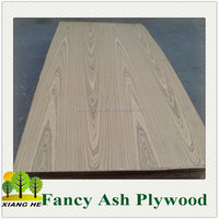 Crown Cut Ash Fancy Plywood/3.6mm Ash Wood Plywood
