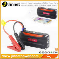 Portable Car Jump Starter and Emergency Power Source Emergency Auto Start Power Power Bank with Flashlight for phone Laptop