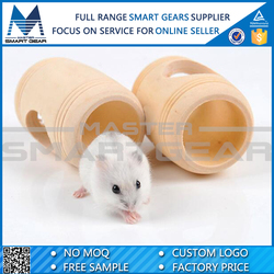 Barrel Shape Wooden Hamster Toy House/Wooden Pet House MSG701010
