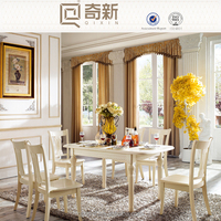 Lecong furniture High-end solid wood furniture,wooden classical dining table