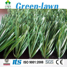 2015 New product PE Material bi colors soccer grass outdoor synthetic grass