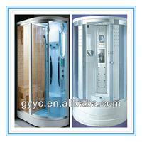 steam shower room with sauna