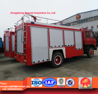 dongfeng rescue truck, 6000liters water tanker fire fighting truck for sale