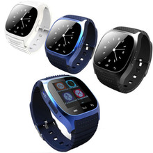 New arrival wristwatch mobile phone Bluetooth silicone smart watch M26
