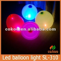 China supplier colorful led balloon light,cheap flashing led balloon lights