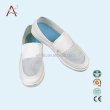 Oem workshop polvere- Free e traspirante camera bianca esd scarpe di sicurezza