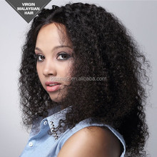 2015 Hot sale New Products hair extension Malaysian Hair Weave 16 inch Curly hair extension