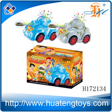 H172134 India boy projection toy car,electric music light tank toy