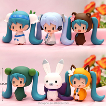 Vocaloid lovely expression Figure Q set of 6pcs