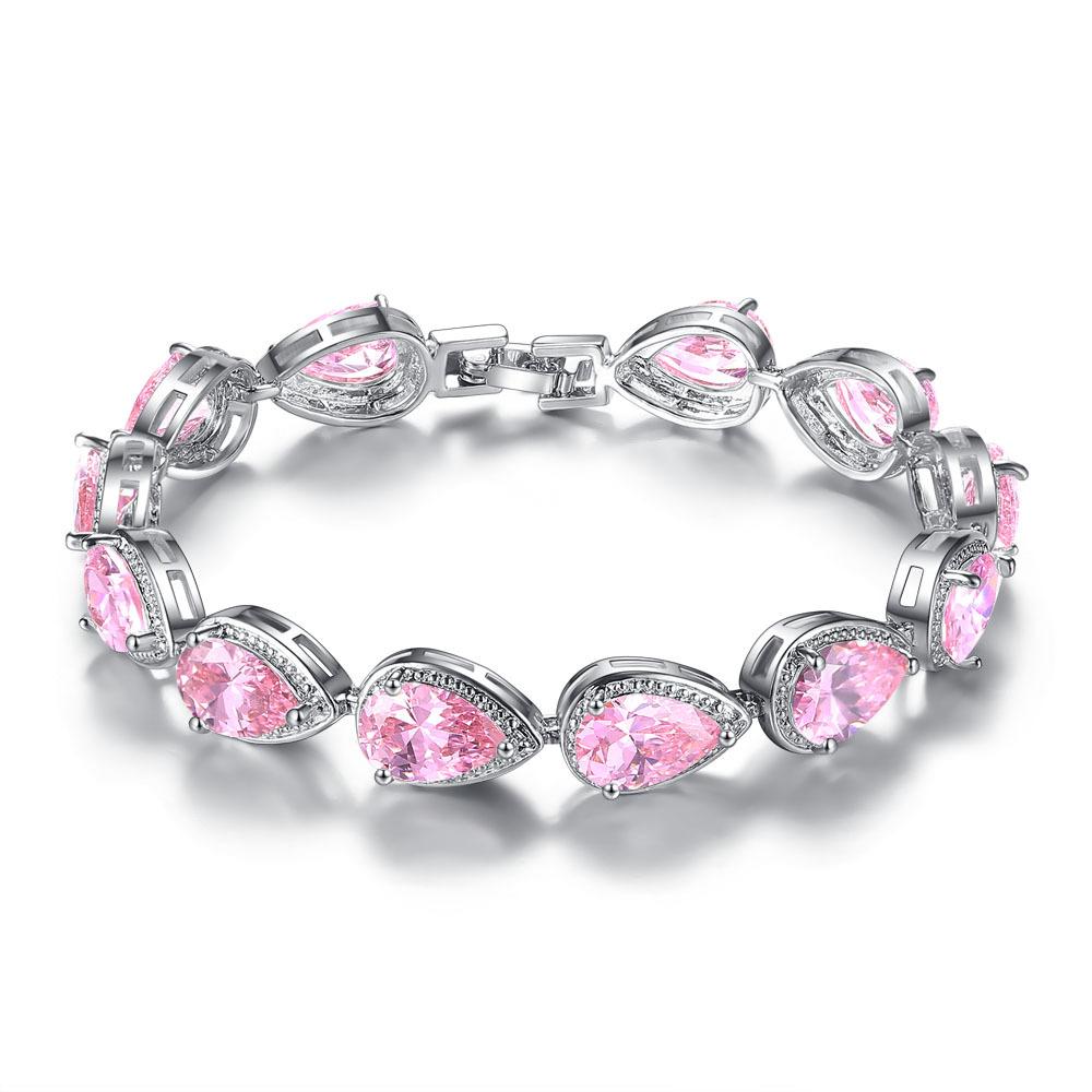 Nueva joyería de moda Ángel cuentas de piedra natural multi-capa cumpleaños regalo pulsera para las mujeres