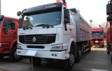China Sinotruck HOWO 8x4 12 tires dump truck engines