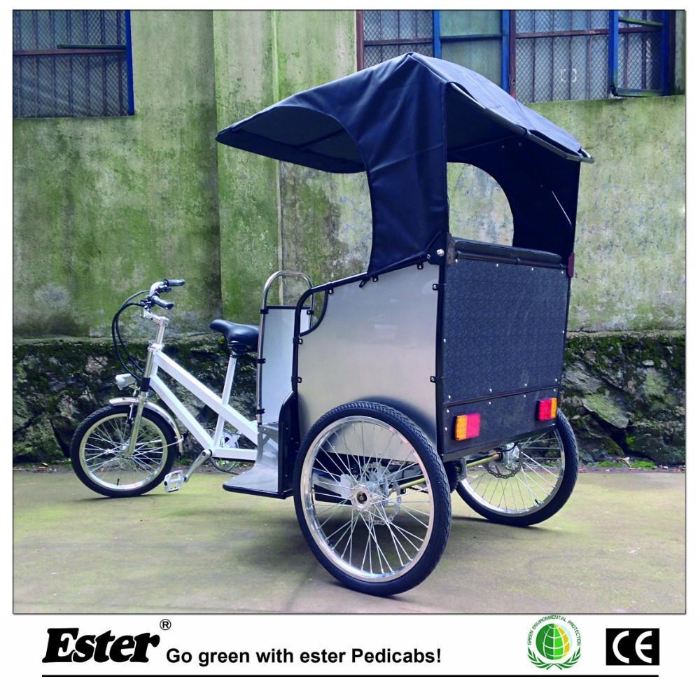 Electric Rickshaw with Rear Motor