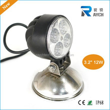 LED Off-road Light,12W LED Work Light,12/24V Driving On Truck,Jeep, Atv,4WD,Boat,Mining LED driving light