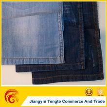 C100% indigo/blue/black denim fabric manufacturer cotton