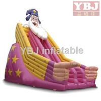 2015 funny inflatable christmas toy /Inflatable Santa Claus slide /Inflatable Christmas Slide