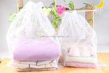 100% polyester drawstring mesh Laundry bag