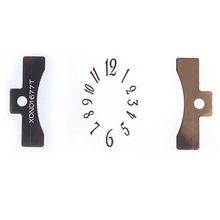 Watch Dial Index Metal Electroforming Foil Self Adhesive Label Sticker
