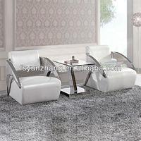 modern big white leather corner sofa