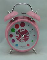 Top level antique simple fashion high-grade quiet sweep desk alarm clock