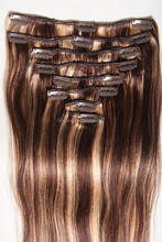 alibaba express in spanish ombre clip in hair extensions for white women, one piece full head clip in hair extensions