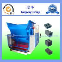 2015 new Parameter setting QMY10-15 fully automatic hydraulic block making machinery