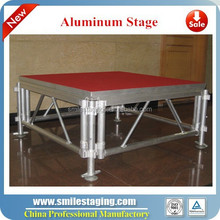 rental stage folding aluminum used mobile stage hire london
