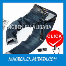 Hot Sale Blue 2014 New Style Fashion Man Jeans Wholesale Price
