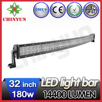 2015 New arrival ! 3D, 4D reflector strobe amber led light bar with spot, flood, combo used as jeep, truck roof light bar