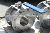 Stainless Steel Wafer Ball Valve with Flanged End [Material:SS304,SS316,WCB] [Pressure:PN16,PN40]