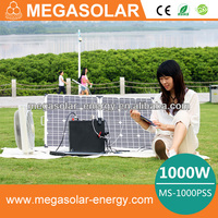 Lithium ion Battery Portable Solar Power Generator for indoor & outdoor