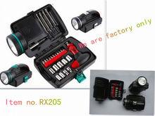 26pcs Mini Gift Tool Kit Hand Tools Set with led Flashlight