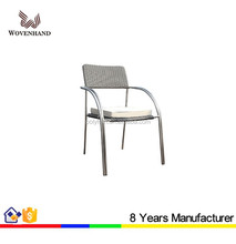 Restaurant patio cast aluminium garden chair