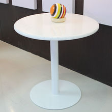 artificial stone round kfc table with 2 seats