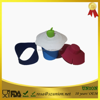 Silicone Cup Cover Sleeve for Ceramic Mugs