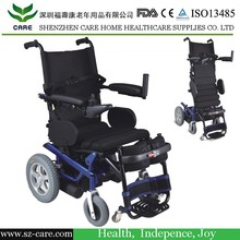 Handicapped standing electric wheelchair with PG controller
