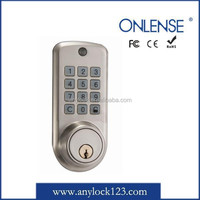 automatic locking mini keypad electric remote control door lock