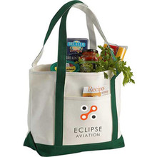 Cotton Boat Totes Personalized Reusable Shopping Tote Bag Wholesale
