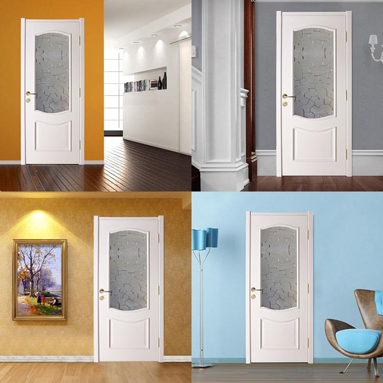 vente chaude int rieur portes avec moiti givr verre. Black Bedroom Furniture Sets. Home Design Ideas