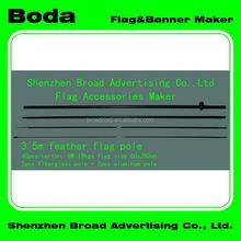 Advertising exquisite aluminium alloy tour flagpole