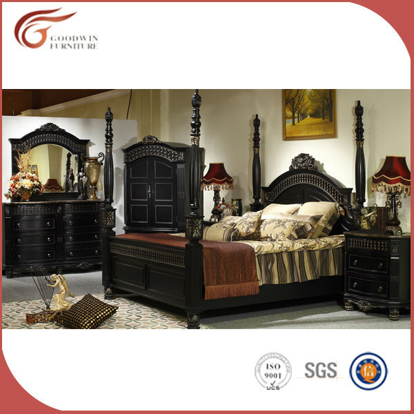 ... solid wood bedroom furniture set, black antique bedroom furniture