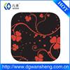 non-slip cup mat/rubber coaster/Decorative Silicone Glass Mats