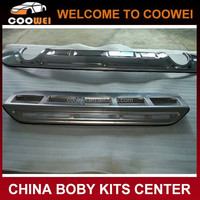 High quality stainless steel material rear bumper guard for Audi Q5