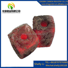 Domestic and industrial use square bamboo BBQ charcoal