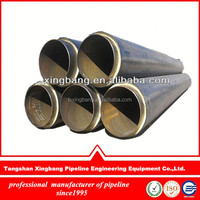 distribution network Pre-insulated pipe system for district heating or cooling