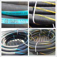 Shandong Manufacture Heat & Oil Resistant Nitrile Rubber Air Hose 2 Inch