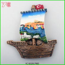 YC-SG-2017983 Turkish Souvenir Resin 3D Fridge Magnet