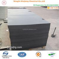 Wear Resistant hdpe black hard plastic sheet