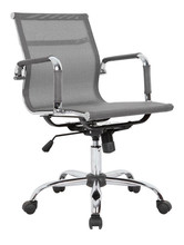 Mesh office chair with chrome chair base AF-C3004MESH
