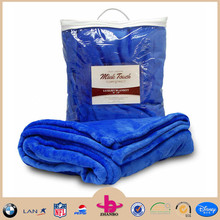2015 Hot Sale 100% Polyester Mink Fleece Crib Blankets