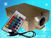 Hot Selling 16W LED fiber optic light engine with 24key RF remote control